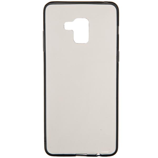 Чехол Vipe Color для Samsung Galaxy A8+, Transparent/Grey чехол для сотового телефона vipe для samsung galaxy a8 color черный