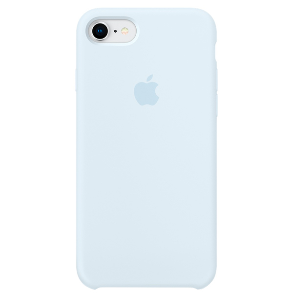 Чехол для iPhone Apple iPhone 8 / 7 Silicone Case, Sky Blue чехол для iphone apple iphone 8 7 silicone midnight blue mqgm2zm a