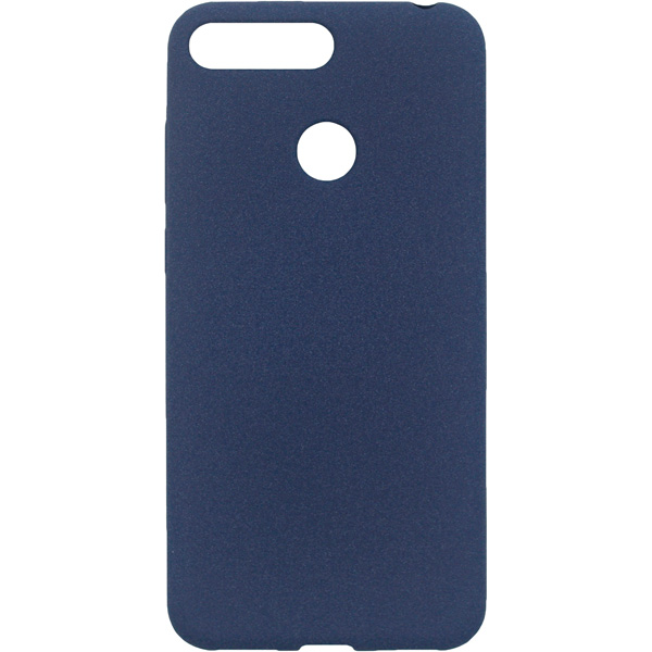 Чехол для сотового телефона InterStep Sand ADV для Huawei Y6 Prime 2018, Blue чехол для iphone interstep для iphone x soft t metal adv красный