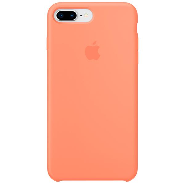 Чехол для iPhone Apple iPhone 8 Plus / 7 Plus Silicone Case, Peach накладка bling my thing warp deluxe для iphone 8 plus золотой ip8 l wd cl gld