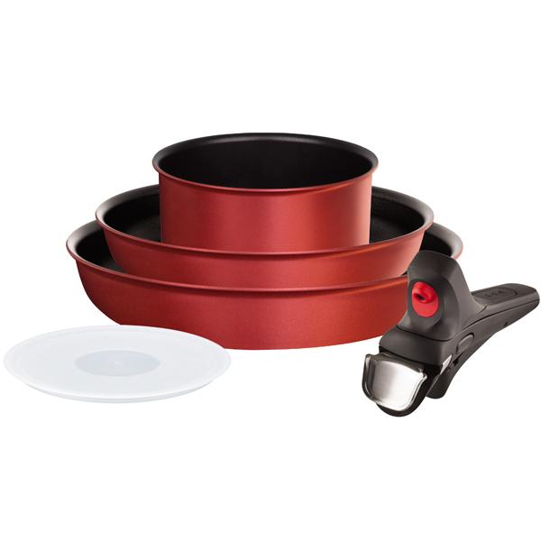 Набор посуды (антипригарное покрытие) Tefal Ingenio Thermocoach 5 предметов (L6979003)