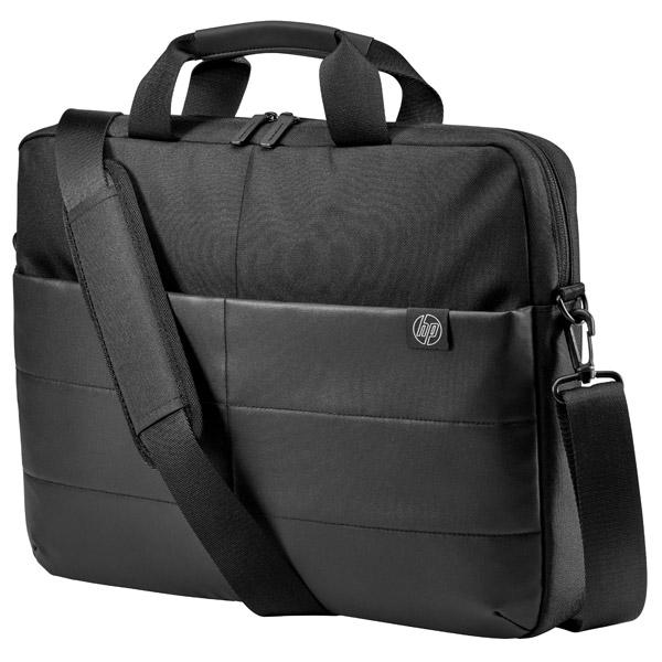 """Купить Кейс для ноутбука HP 15.6"""" Classic Briefcase, Black (1FK07AA) в каталоге интернет магазина М.Видео по выгодной цене с доставкой, отзывы, фотографии - Москва"""