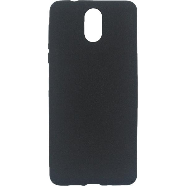 Чехол для сотового телефона InterStep Sand ADV для Nokia 3.1, Black чехол для сотового телефона interstep crab adv digma vox s503 и к black
