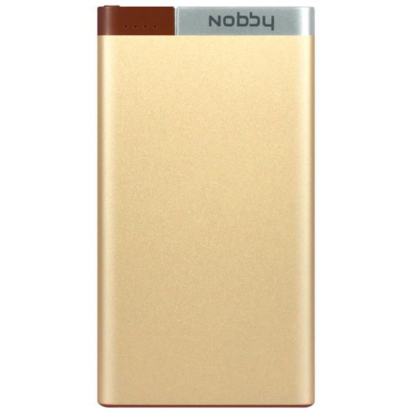 Внешний аккумулятор Nobby Metallic 032-001 Gold 5000mAh