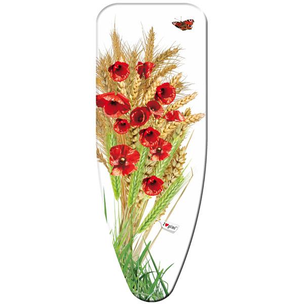 Чехол для гладильной доски Gimi Poppies L