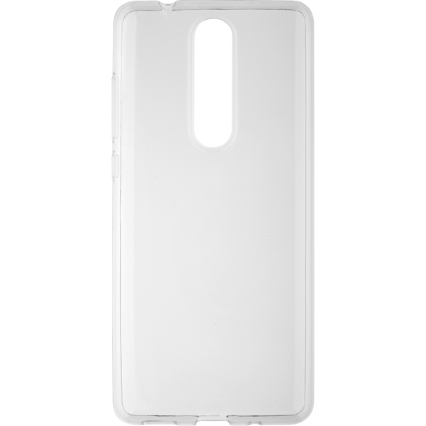 Чехол для сотового телефона InterStep SLENDER ADV Nokia 5.1 прозрачный стоимость