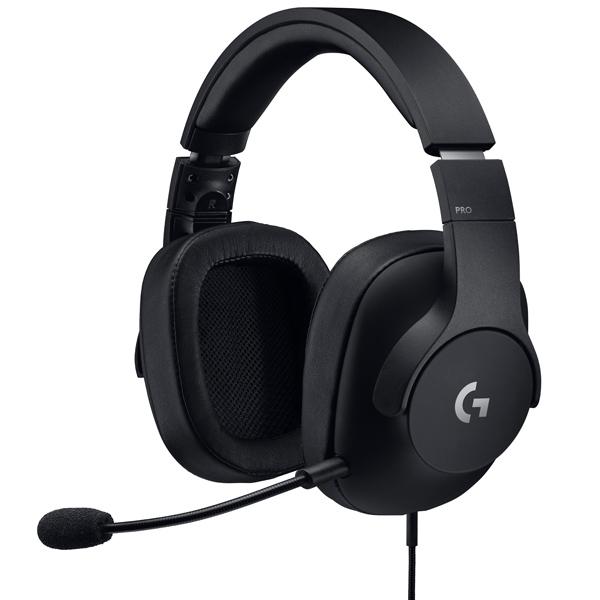 Купить Игровые наушники Logitech G PRO Gaming Headset Black (981-000721) в каталоге интернет магазина М.Видео по выгодной цене с доставкой, отзывы, фотографии - Краснотурьинск