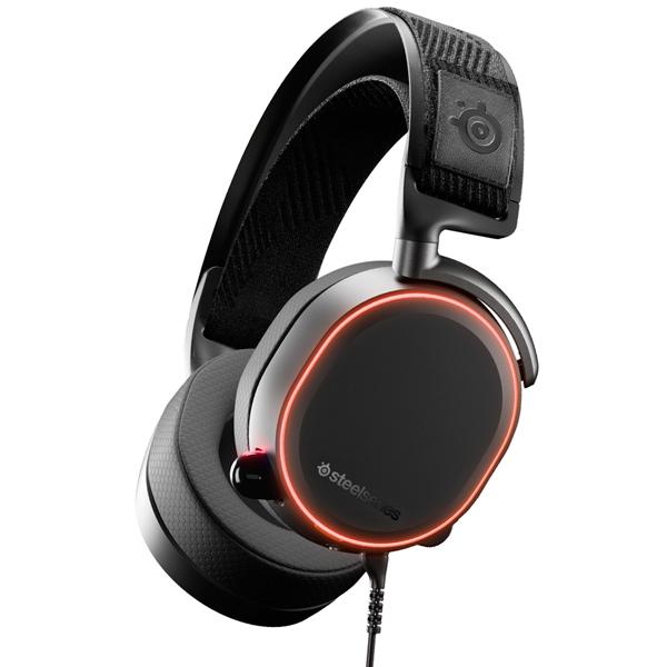 Игровые наушники Steelseries Arctis Pro+GameDAC (61453) наушники с микрофоном steelseries arctis pro gamedac мониторы черный [61453]