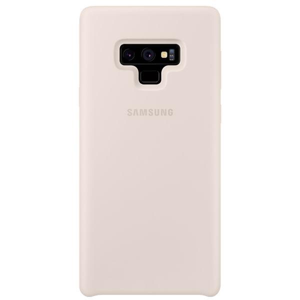 Чехол Samsung Silicone Cover для Galaxy Note 9, White клип кейс samsung silicone cover для galaxy s8 зеленый