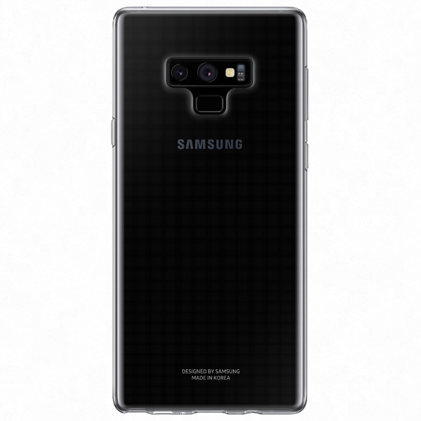 Чехол Samsung Clear Cover для Galaxy Note 9, Transparent чехол клип кейс samsung clear cover для samsung galaxy a3 2017 прозрачный [ef qa320ttegru]
