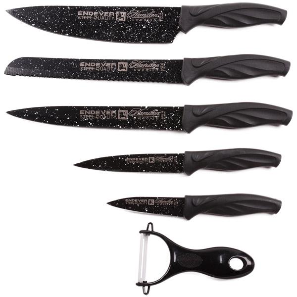 Набор кухонных ножей Endever Hamilton-017