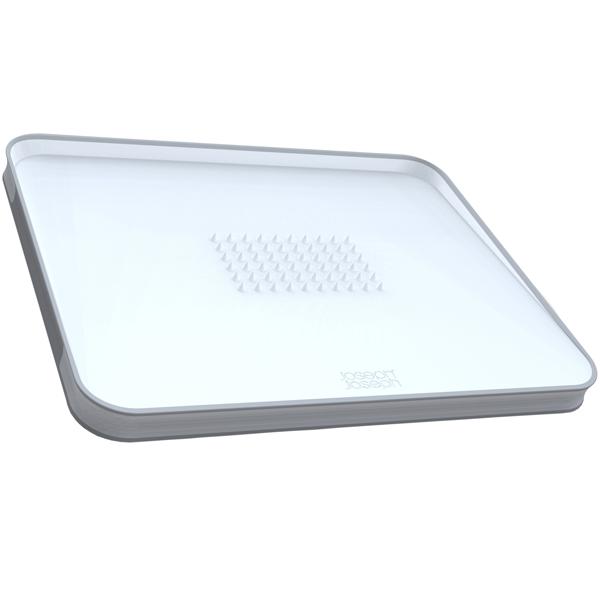 Кухонная утварь Joseph Joseph Доска разделочная Cut&Carve Plus White (60003)