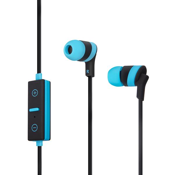 Наушники Bluetooth Rombica MySound BR-02, Light Blue/Black (BR-00020)
