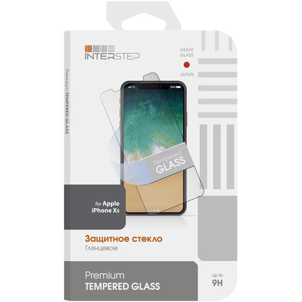 Защитное стекло InterStep — для iPhone Xs