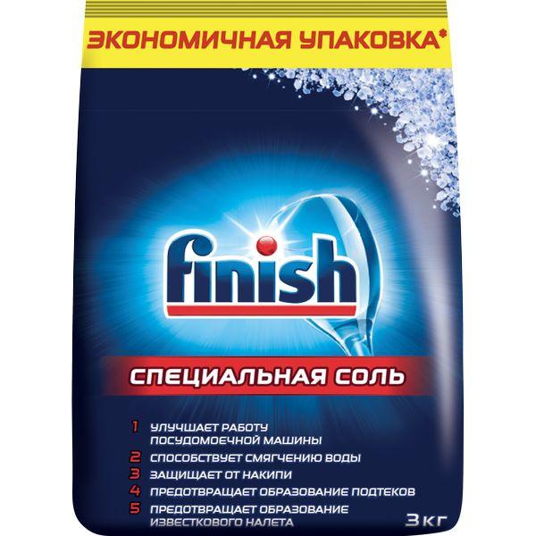 Соль для посудомоечной машины Finish д/DW 3 кг
