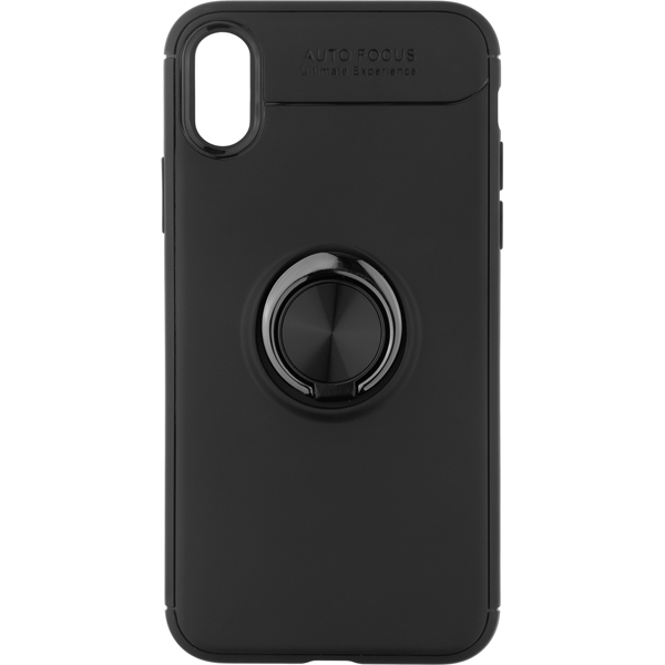 Чехол для iPhone InterStep RING CASE ADV iPhone XR чёрный