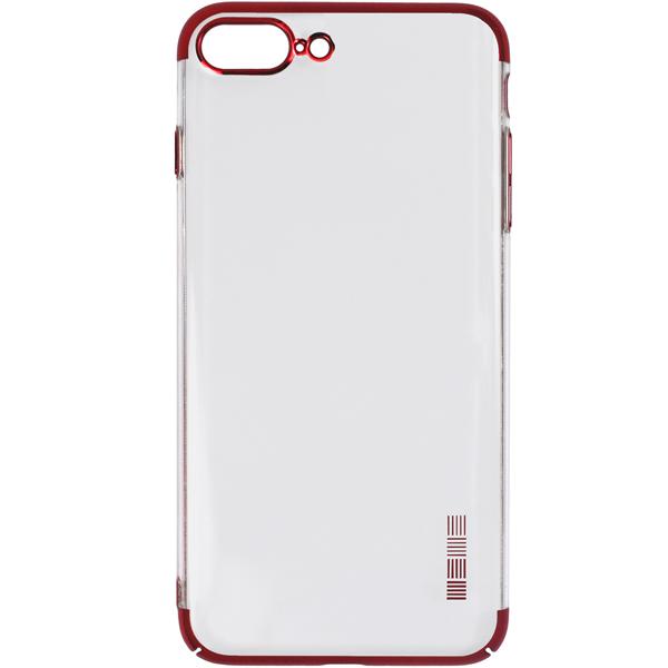 Чехол для iPhone InterStep DECOR ADV iPhone 8 Plus/7 Plus красный