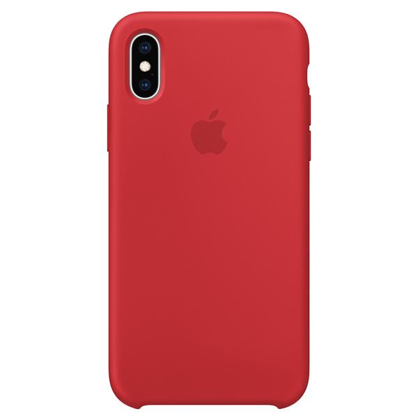 Чехол для iPhone Apple iPhone XS Silicone Case (PRODUCT)RED пальто женское sh bethlehem цвет красный rna18223cp red fire размер xs 40