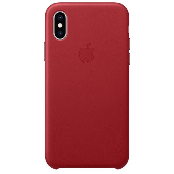 Чехол для iPhone Apple iPhone XS Leather Case (PRODUCT)RED пальто женское sh bethlehem цвет красный rna18223cp red fire размер xs 40