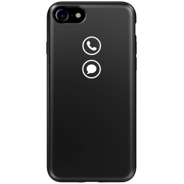 detailed look 95b22 1df0e Чехол для iPhone Lunecase для iPhone 8 Classic черный