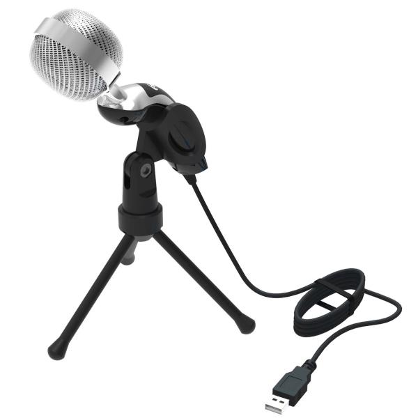 Микрофон для компьютера Ritmix RDM-127 USB Black