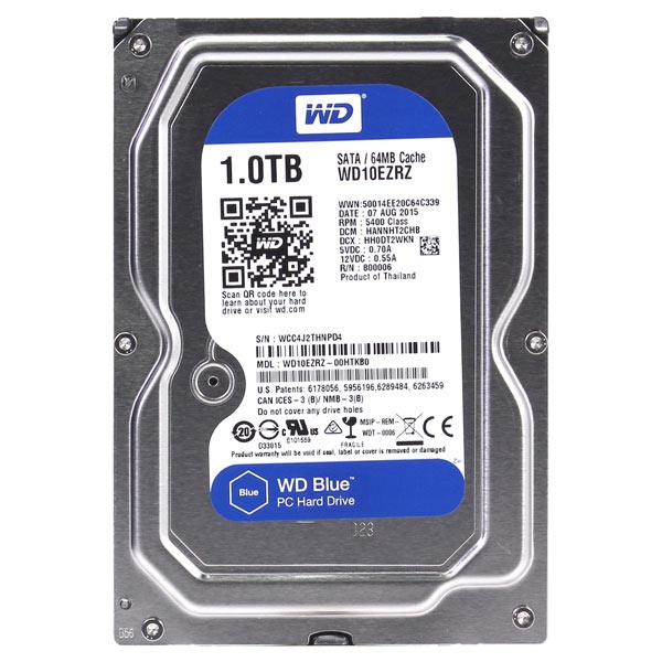 Внутренний HDD диск WD 1TB Blue (WD10EZRZ)
