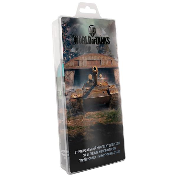 Чистящее средство для игровых аксессуаров World Of Tanks — набор для игр. приставок/экранов (арт. 602)