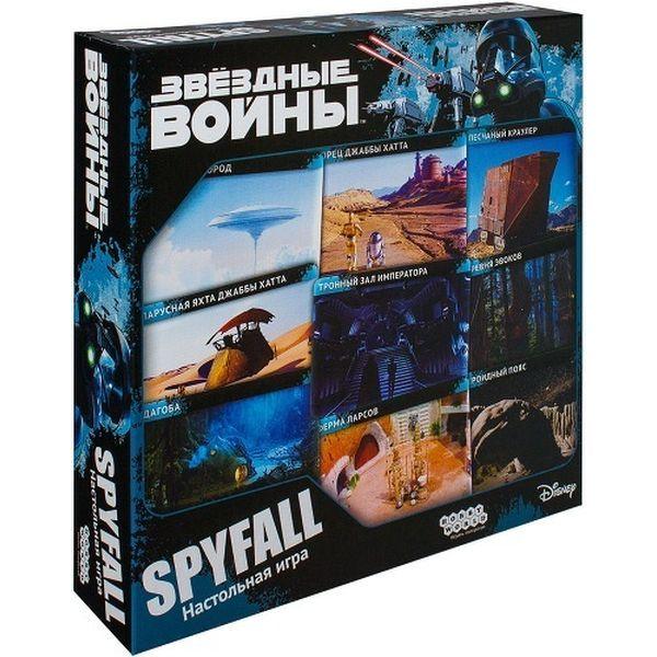 Настольная игра Hobby World Звездные Войны: Spyfall (1636)