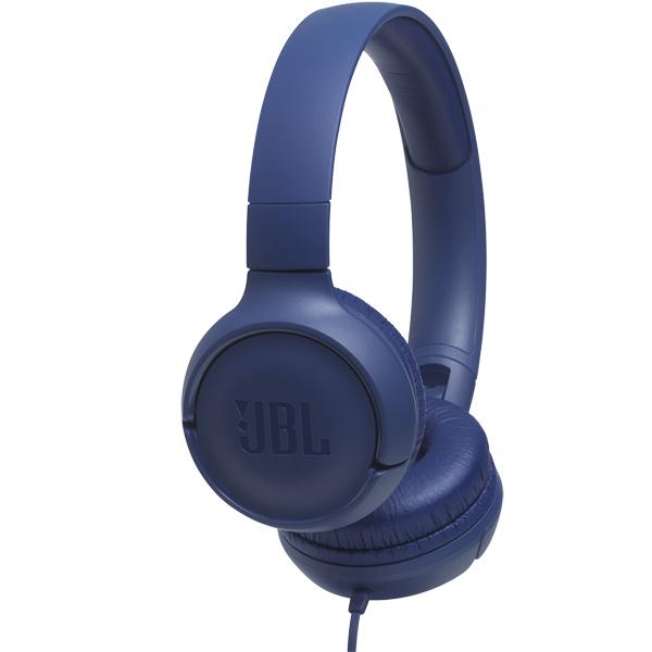 Наушники накладные JBL Tune 500 Blue (JBLT500BLU)