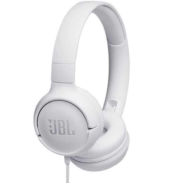 Наушники накладные JBL Tune 500 White (JBLT500WHT)