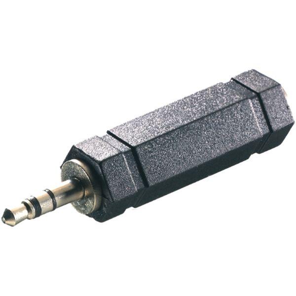 Переходник для кабеля Vivanco Jack3.5 папа / Jack6.3 мама (46065)