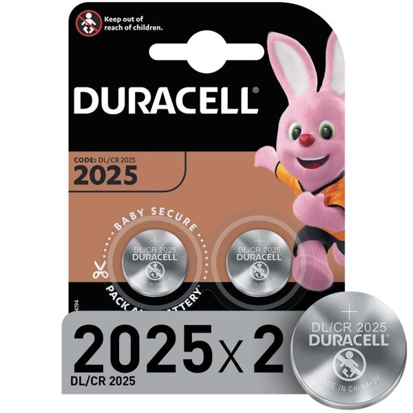 Купить Батарея Duracell CR2025-2BL 2шт в каталоге интернет магазина М.Видео по выгодной цене с доставкой, отзывы, фотографии - Улан-Удэ