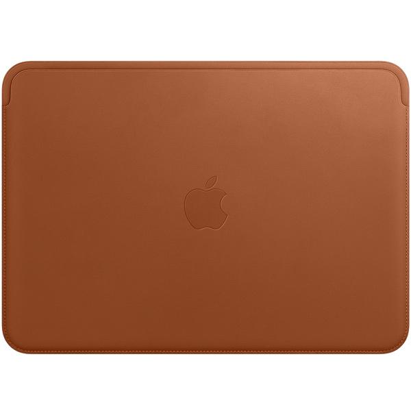 "Кейс для MacBook Apple — 12"" Leather Sleeve Saddle Brown (MQG12ZM/A)"