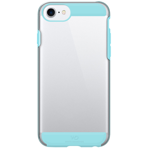 Чехол для iPhone White Diamonds Innocence Clear Calif.Turquoise д/iPhone 8/7/6/6S