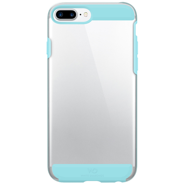 Чехол для iPhone White Diamonds Innocence Clear CalifTurquoise д/iPh.8+/7+/6s+/6+