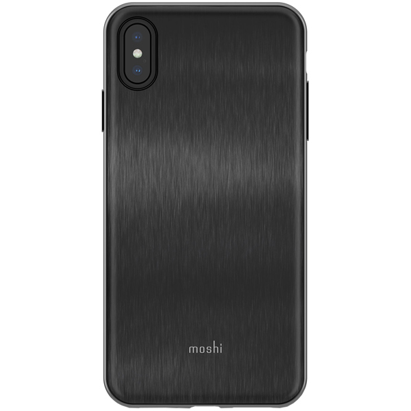 Чехол Moshi iGlaze for iPhone XS Max Armour Black черный