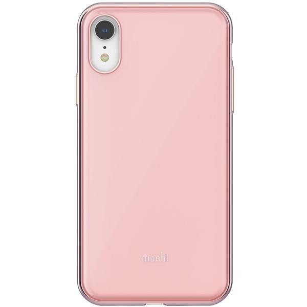 Чехол Moshi iGlaze for iPhone XR Taupe Pink розовый