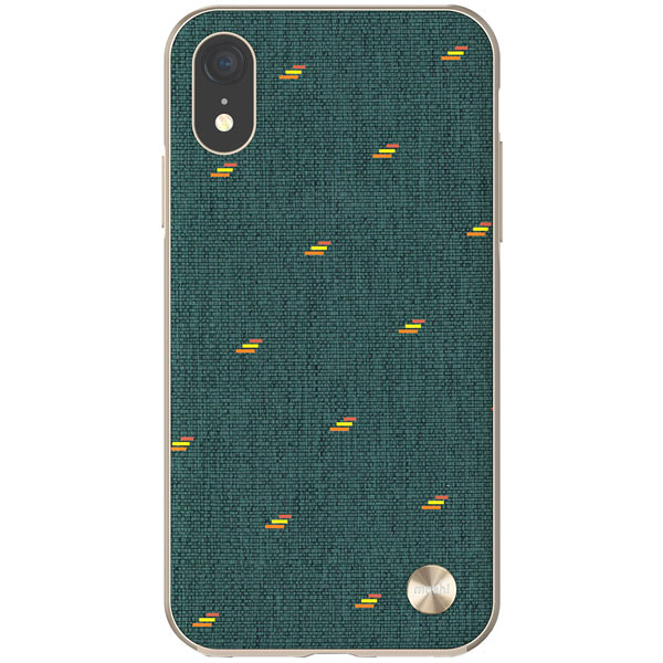 Чехол Moshi Vesta for iPhone XR Green фото
