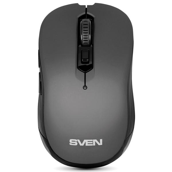 Мышь беспроводная Sven RX-560SW Grey