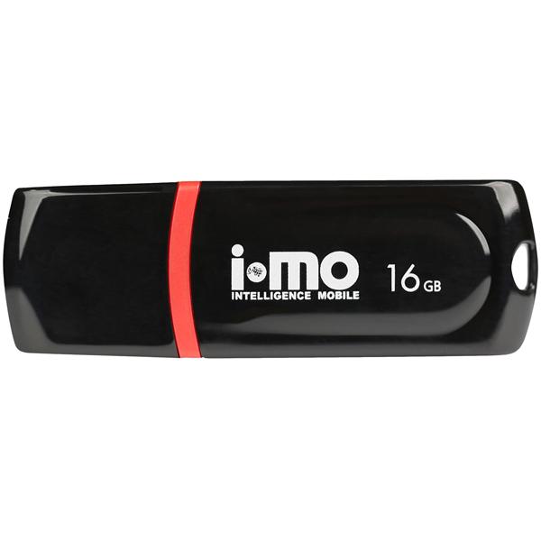 Флеш-диск IMO 16GB Paean Black черного цвета