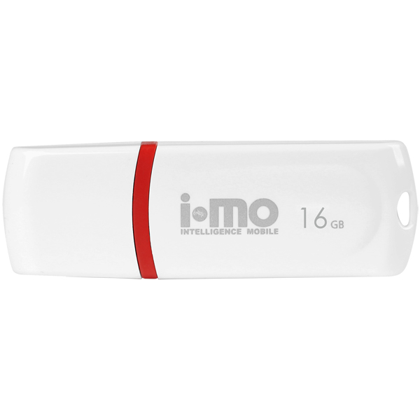 Флеш-диск IMO 16GB Paean White белого цвета