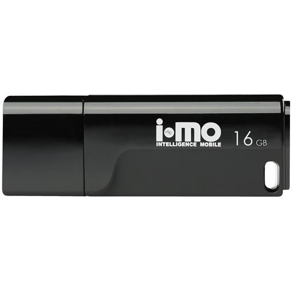 Флеш-диск IMO 16GB Tornado Black черного цвета