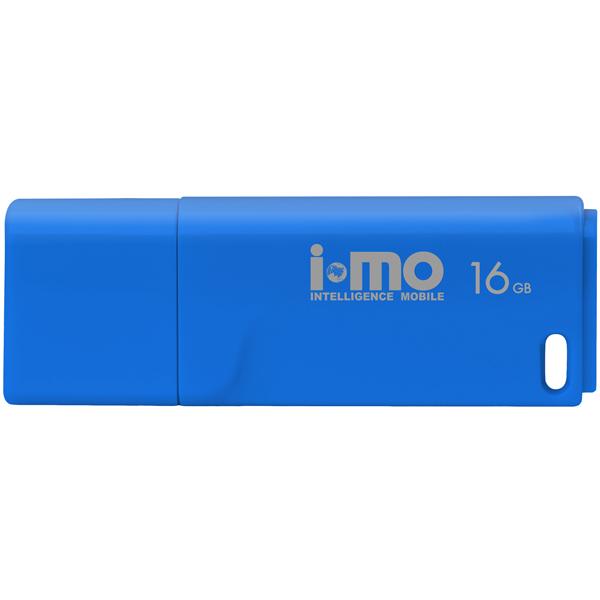 Флеш-диск IMO 16GB Tornado Blue синего цвета