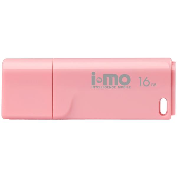 Флеш-диск IMO 16GB Tornado Pink розового цвета
