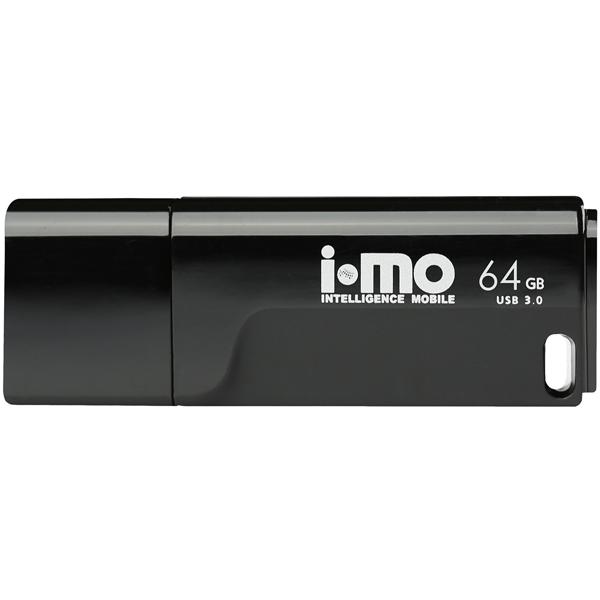 Флеш-диск IMO 64GB Tornado Black черного цвета