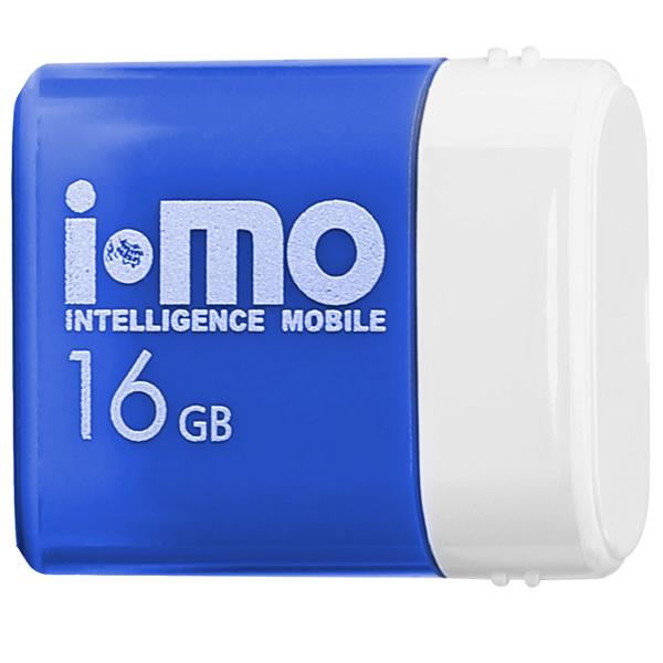 Флеш-диск IMO 16GB Lara Blue синего цвета