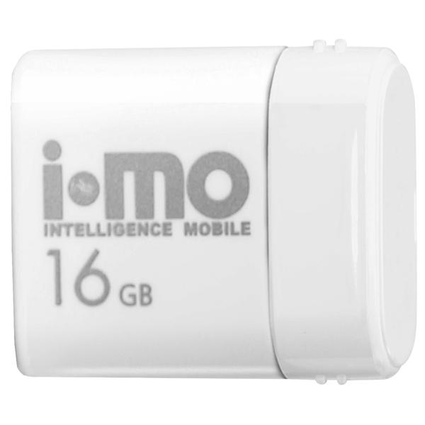 Флеш-диск IMO 16GB Lara White белого цвета