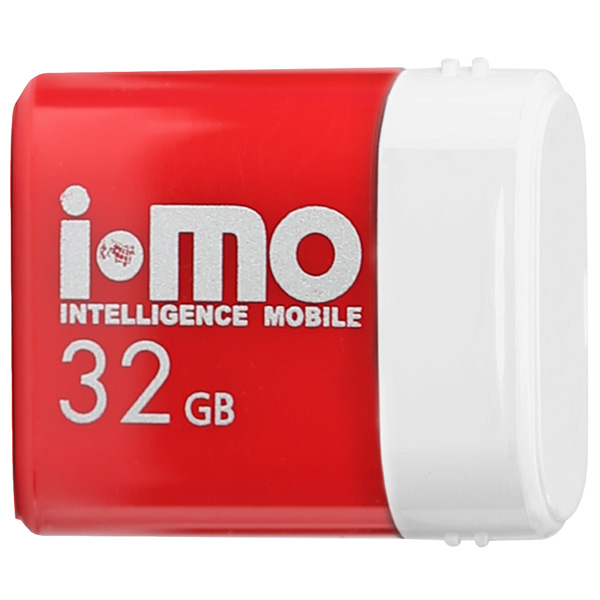 Флеш-диск IMO 32GB Lara Red