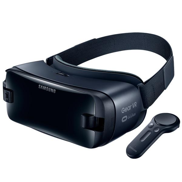 Очки виртуальной реальности Samsung Gear VR w/controller + Type-C, Dark Blue(SM-R325)