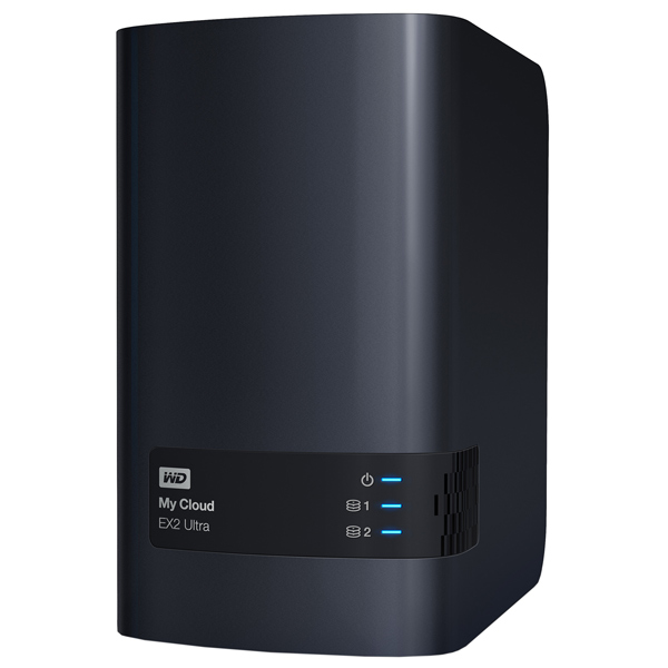 Сетевое хранилище данных WD — 4TB My Cloud EX2 Ultra (WDBSHB0040JCH-EEUE)